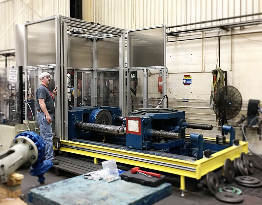 High Pressure Testing and Blast Resistant Structure Complex design